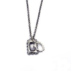 아벤투라 18AN-04 Avventura timeworn mirror sun necklace