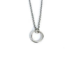 아벤투라 18AN-11 gear wheels ring necklace