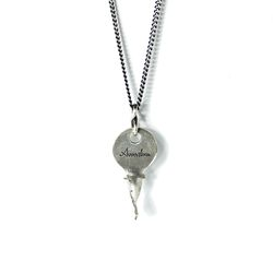 아벤투라 18AN-13 vintage twist key necklace