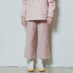 골덴 와이드팬츠 핑크