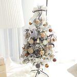 화이트프라하 크리스마스 트리 120cm (앵두전구1개추가)