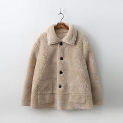 Faux Mouton Short Coat
