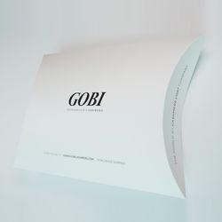 GOBI 고비캐시미어 선물상자 - 소프트박스(머플러용)