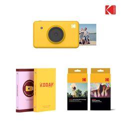 [1300K단독] 코닥 미니샷 (MS-210) 포토프린터 + 스티커20매 + 파우치 세트