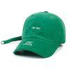BrTW CORDUROY BASEBALL CAP GREEN