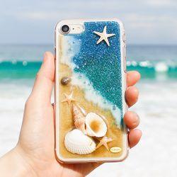 Disegno 핸드메이드 바다 핸드폰케이스(별바다)