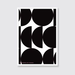 [포스터] MOONY MOONIE BLACK (A3)