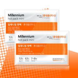밀레니엄 휴대용핫팩 (미니) 100매입