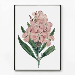 메탈 꽃 식물 액자 보타니컬 아트 플라워 A [대형]