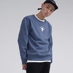 아카릿 3305-미니 존패리(러시안블루)크루넥 스웨트셔츠