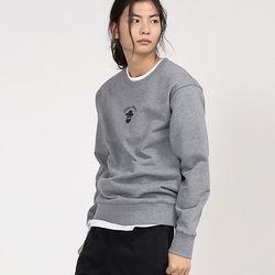 아카릿 3305-미니 존패리(멜란지그레이)크루넥 스웨트셔츠