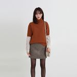 ramswool half pola knit (2colors)