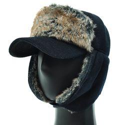 [플릭앤플록]EJO01.귀달이 털 겨울 캡모자 방한 모자