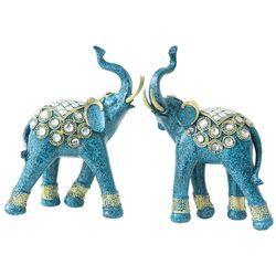 알라딘 코끼리 2P 장식소품