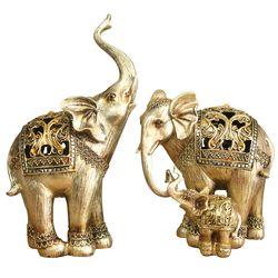 엔틱 코끼리 2P 장식소품