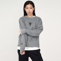 W아카릿 3305-미니 존패리(멜란지그레이)크루넥 스웨트셔츠