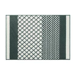 피코크 매트 그린 발매트-45x65