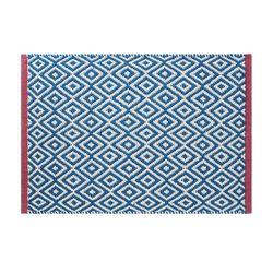 인디아 매트 블루 발매트-45x65