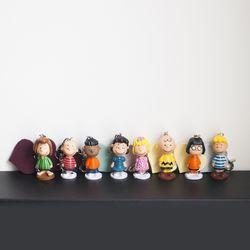 [하이데나이] 빈티지 스누피와 친구들 피규어 키링