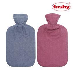 FASHY 보온물주머니 핫팩2L+천연염색면커버