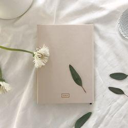 PLANNER-cream beige