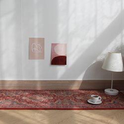 페르시안 극세사 주방매트 - 5color