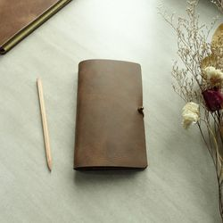 천연가죽 다이어리 Diary Binder Simple B6 [MarsBrown]