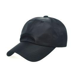 [플릭앤플록]ETC01.새틴 솔리드 야구모자 볼캡