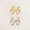 언유주얼 루프 귀걸이 (2colors)