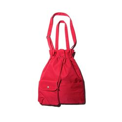 POCKET BIND 2 WAY BAG - RED