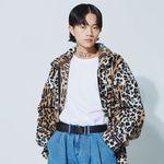 leopard dumble zipup jacket - UNISEX