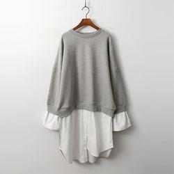 Gimo Honey Bee Sweatshirt Dress