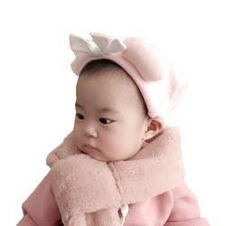 따숩 퍼 목도리(핑크그레이)