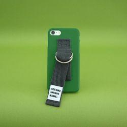 SUN CASE MEDIUM GREEN DEEP GRAY (NONE) 아이폰 폰케이스