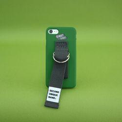 SUN CASE MEDIUM GREEN DEEP GRAY (WORD) 아이폰 폰케이스