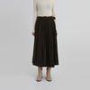 two version pleats skirt (2colors)