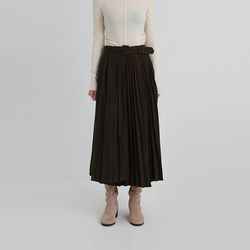 two version pleats skirt (2colors)