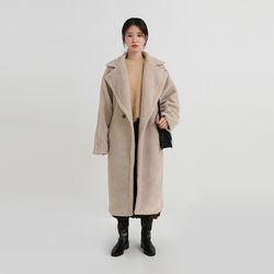 teddy boucle double coat (2colors)