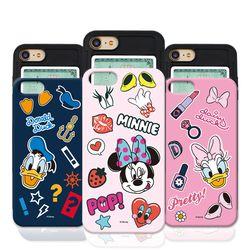 [P]디즈니 커플 슬라이드 케이스.아이폰6(s)