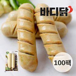 매콤청양고추 닭가슴살 소시지 100팩