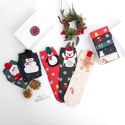 유쾌한 크리스마스 5매 선물세트
