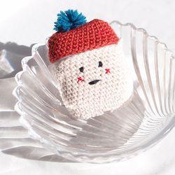 겨울아이 에어팟 뜨개케이스