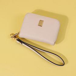 라템 눈꽃 여자카드지갑 아이보리(AG2C8812DAII)