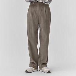 corduroy pintuck pants (s m)