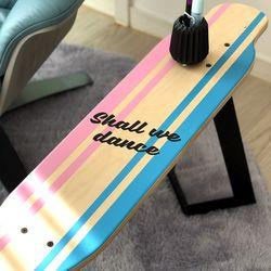 롱보드 스툴&테이블-pink blue