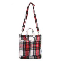 FENNEC C&S CHECK POCKET BAG - RED