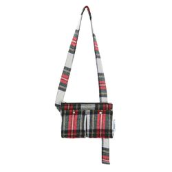 FENNEC C&S CHECK BODY BAG - RED