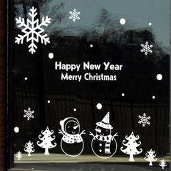 id036-눈사람이랑(중형)크리스마스스티커