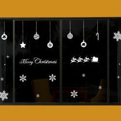 ii147-크리스마스눈꽃과오너먼트
