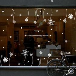 ph378-크리스마스눈꽃가든스티커